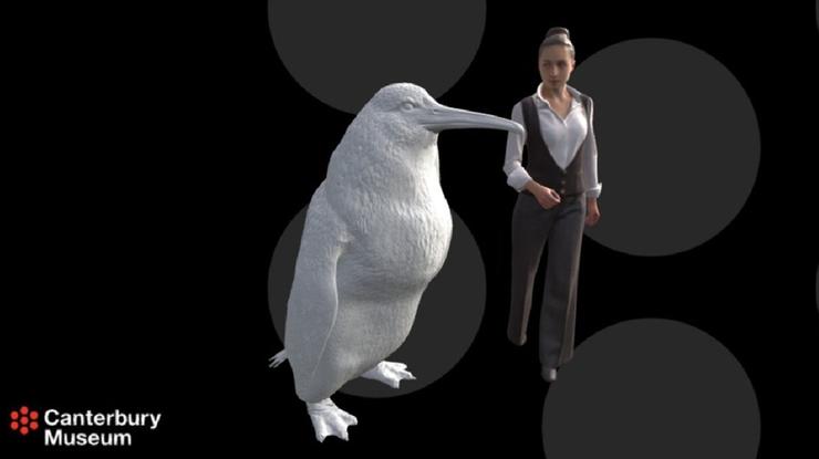 """""""Pingwin potwór"""". Odnaleziono skamieliny ptaka wielkości człowieka"""