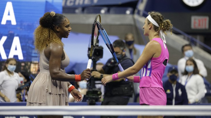 US Open: Wiktoria Azarenka w finale! Serena Williams pokonana