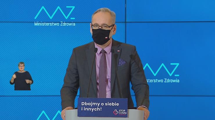 Trzecia fala pandemii. Minister zdrowia: może nastąpić na przełomie lutego i marca