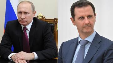 """Putin rozmawiał z Asadem. Potwierdzili """"dalszą bezkompromisową walkę z IS"""""""