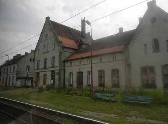 Stacja kolejowa w Rybnicy (zdjęcie z 2012 r.)