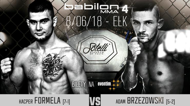 Babilon MMA 4: Formela zmierzy się z Brzezowskim