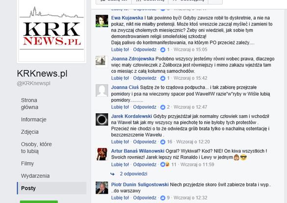 KRKnews.pl/Facebook.com