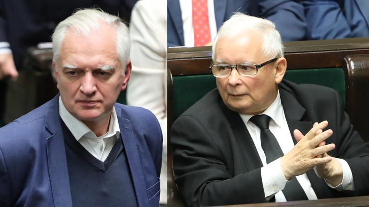 Na Nowogrodzkiej spotkanie Kaczyński - Gowin
