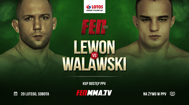 FEN 32: Rafał Lewon kontra Piotr Walawski, czyli pojedynek zawodników z przeszłością w FEN