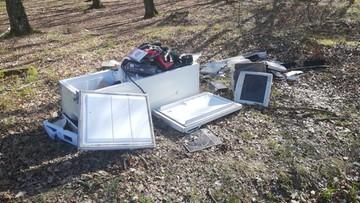 """""""Nie wiedzieliśmy, że śmieci nie można wywozić do lasu"""". 40 m3 odpadów w ciągu trzech dni"""