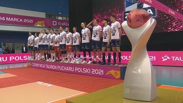 Siatkarze ZAKSY odebrali Puchar Polski (WIDEO)