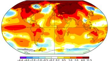 To był najcieplejszy luty w historii. Naukowcy zaskoczeni skalą zmian