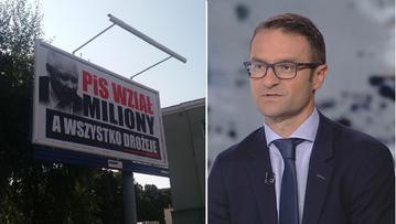 """""""Nie będziemy wchodzić w bijatykę z totalną opozycją"""". Poręba o kampanii """"PiS wziął miliony"""""""