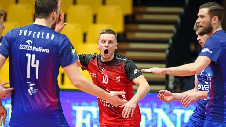 Liga Mistrzów siatkarzy: VERVA Warszawa ORLEN Paliwa pokonała Leo Shoes Modena po pięciu setach
