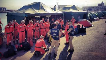 Polscy strażacy w Bejrucie rozpoczęli prace poszukiwawcze. Na miejscu jest reporter Polsat News