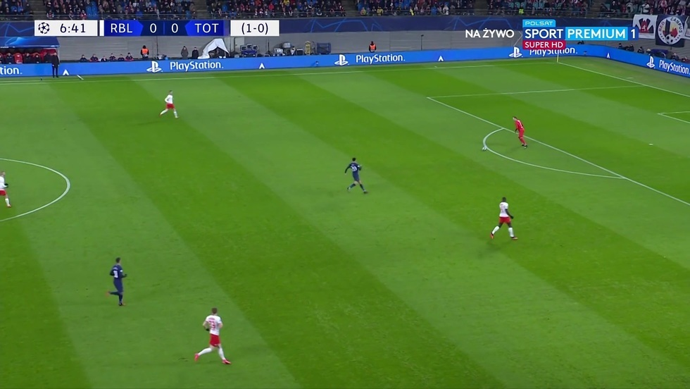 RB Lipsk - Tottenham Hotspur Londyn