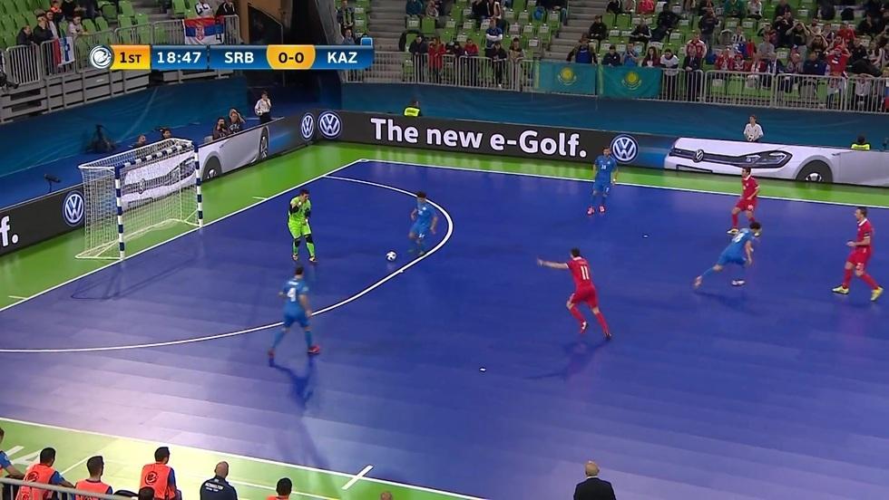 Serbia - Kazachstan, skrót meczu