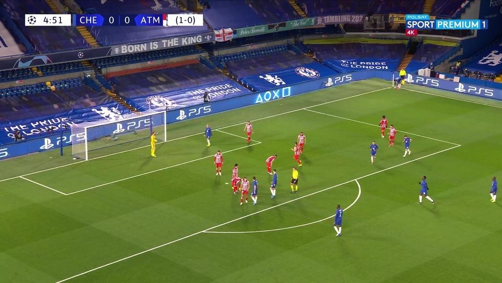 Chelsea Londyn - Atletico Madryt 4K