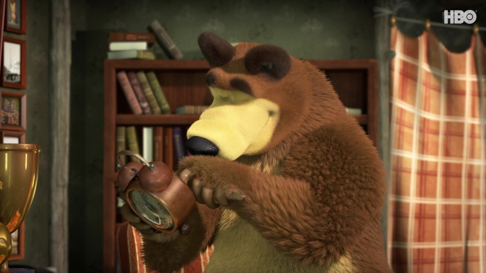 Masza i niedźwiedź III, odc. 25