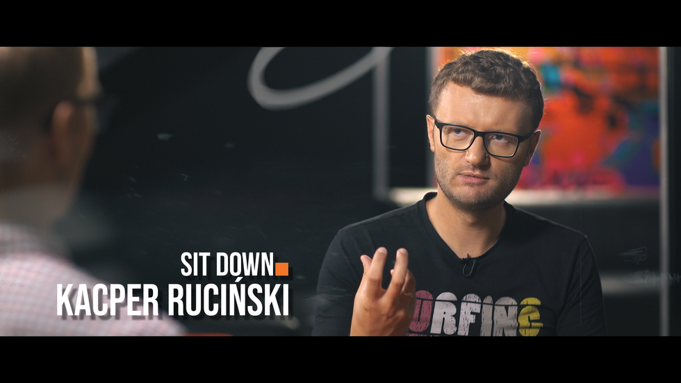 Sit down. Rozmowy o stand-upie #10 Kacper Ruciński