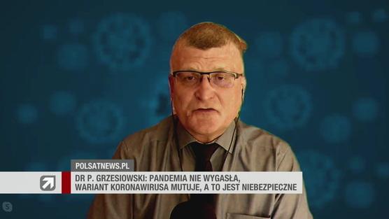 Gość Wydarzeń - dr Paweł Grzesiowski