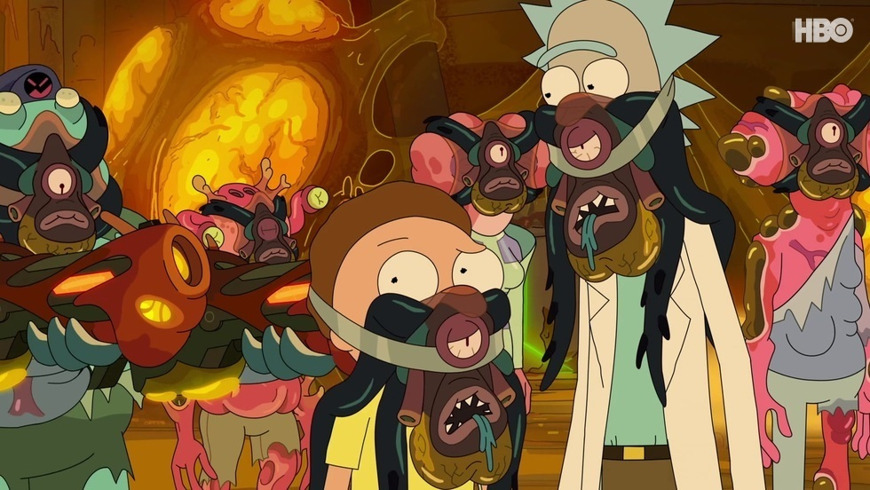 Rick i Morty IV, odc. 7